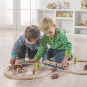 Holzzug-Set für Kinder
