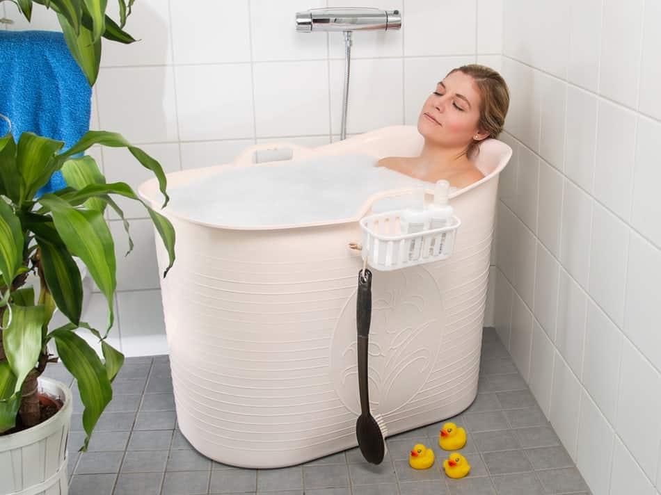 Mobile Badewanne - bequemes Badevergnügen überall!