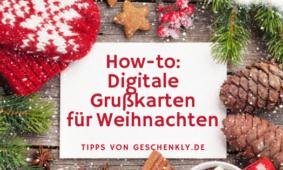 Stilvolle Weihnachtsgrüße im digitalen Zeitalter