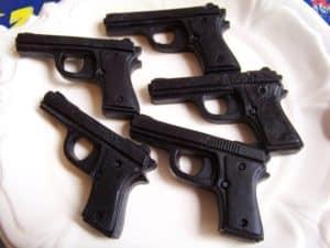 Pistole aus Seife