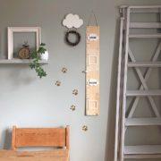 Messlatte für's Kinderzimmer