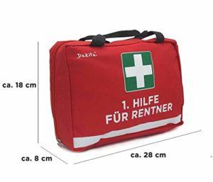 1. Hilfe Tasche zum Ruhestand