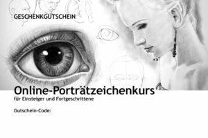 Online-Porträtzeichenkurs für Einsteiger