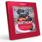 Erlebnisgutscheinbox zum Geburtstag