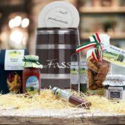 Geschenkset mit italienischen Köstlichkeiten