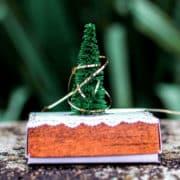 Schreibtisch-Weihnachtsbaum