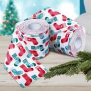 Weihnachtliches Toilettenpapier