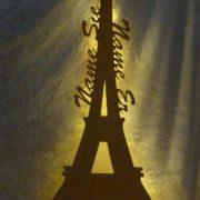 romantisches Eiffelturm-Dekolicht