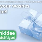 WaschMal Geschenkgutschein – der digitale Abhol- und Lieferservice deiner lokalen Textil-reinigung.