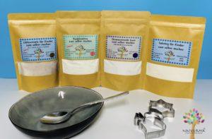 Badebomben, Straßenkreide, Spielknete (Fertigmischung) zum selber machen, aus natürlichen Zutaten.