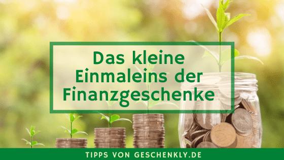 Finanzgeschenke