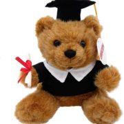 Glückwunsch Teddybär zum Examen