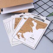 Reisetagebuch mit Scratch-Off-Karten
