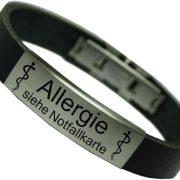 Notfallarmband für Allergiker