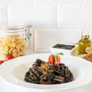 Casarecce mit Tintenfisch - Kochbox für 2 Personen