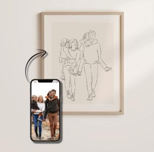 Deine Familie als Kunstwerk