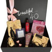 Geschenkbox für Frauen zum 40. Geburtstag