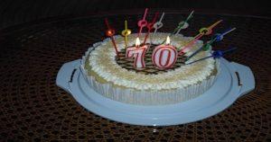 Geschenke zum 70. Geburtstag