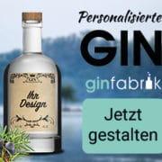 Gin mit eigenem Etikett